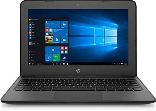 "HP SBUY STR11EEG4 3BB42UT#ABA Laptop (Windows 10 Pro, Intel CN3450, 21.5"" LED-Lit Screen, Storage: 64 GB, RAM: 16 GB) Black"