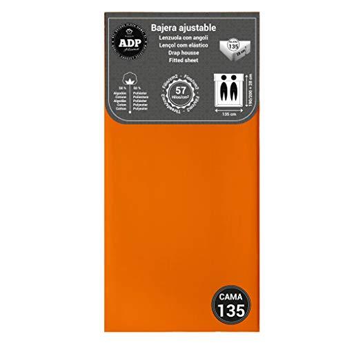 ADP Home - Bajera Ajustable (para Cama de 135 cm), Naranja