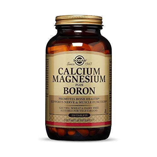 Solgar – Calcium Magnesium Plus Boron, 250 Tablets