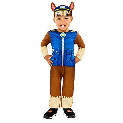 Generique - Disfraz Chase Paw Patrol bebé - 2-3 años (86-94 cm)