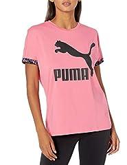 Puma AOP - Camiseta de manga corta para mujer