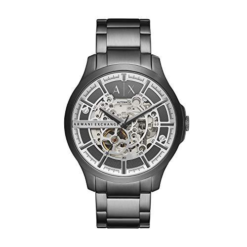 Armani Exchange Reloj Analógico para de los Hombres de Cuarzo con Correa en Acero Inoxidable AX2417