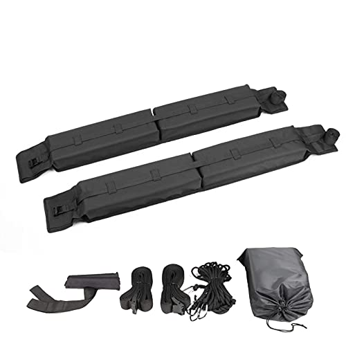 Nrkin Baca universal para el techo del coche, para kayak, surf, canoa, tabla de snowboard, tabla de remo.