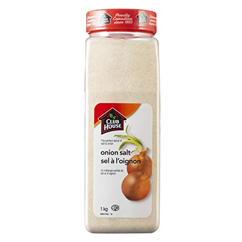 Club House, Quality Natural Herbs & Spices, Onion Salt, 1kg