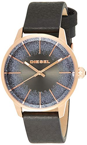 Diesel Women's 'Castilia' Quartz Stainless Steel and Leather Casual Wa