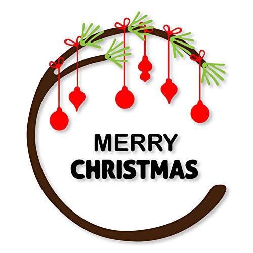Pixie Stanssjabloon voor knutselwerk, slinger, vrolijke kerstmis, frame van metaal, stanssjabloon voor doe-het-zelf scrapbooking muere craft papier make-ing reliëf
