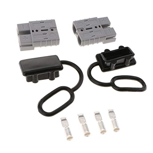 2 St/ück 50 A Stecker-Verbindung Abtrennung von Seilwinde Anh/änger Batterie-Schnellverbinder Kit