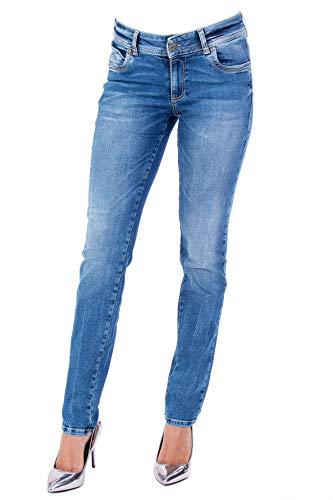 Blue Monkey Damen Jeans Laura 0002 Stickereien