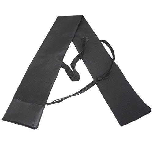 刀袋 肩掛け付 刀ストラップ 剣袋 ロープ調節 収納バッグ 保管 収納