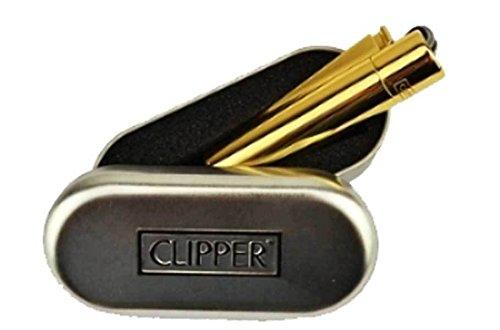 Mechero de metal dorado con grabado personalizable, para grabar cualqu