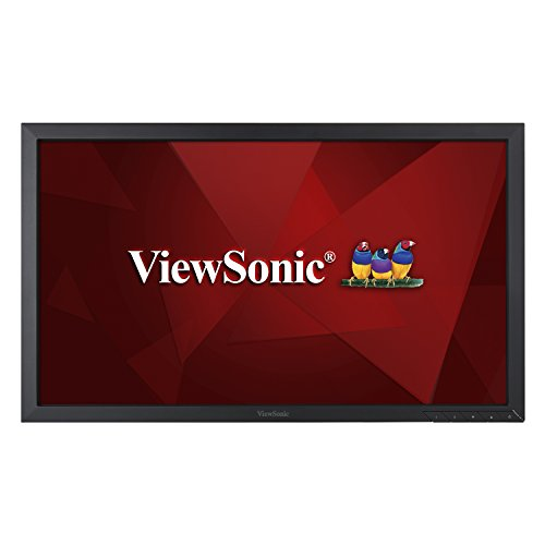 ViewSonic VA2452SM_H2 24 Inch Dual Pack Head-Only 1080p LED Monitors with DisplayPort DVI and VGA