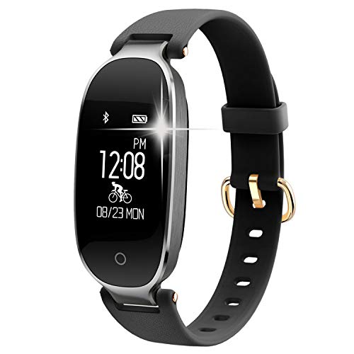 WOWGO Fitness Tracker mit Pulsmesser, Schlanke Sport Activity Tracker Watch, wasserdichte Schrittzähler Uhr mit Schlaf Monitor, Step Tracker für Kinder, Frauen und Männer