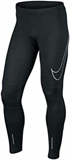 Mens Power Flash Essential Running Tights Pants Black X-Large