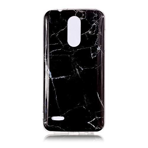Yhuisen Handy-Taschen und Handy-Hüllen, LG K8 2018 Fall, Marmor Stein Muster weichen TPU zurück Shell Fall für LG K8 2018 (Farbe : 2)