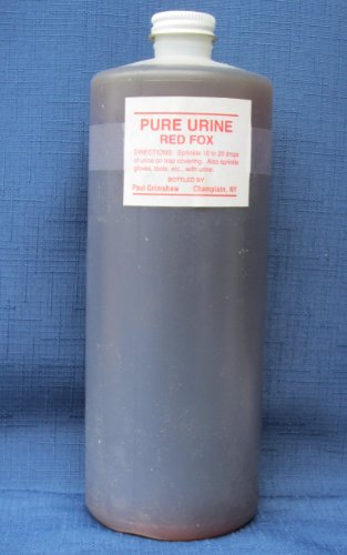 Fresh Fox Urine - 32 Oz (1 Qt)