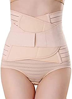 GLAMORAS ® Women's Postpartum Recovery Belly Band Waist Trainer Cincher Trimmer Tummy Control Slimming Body Shaper Shapewe...