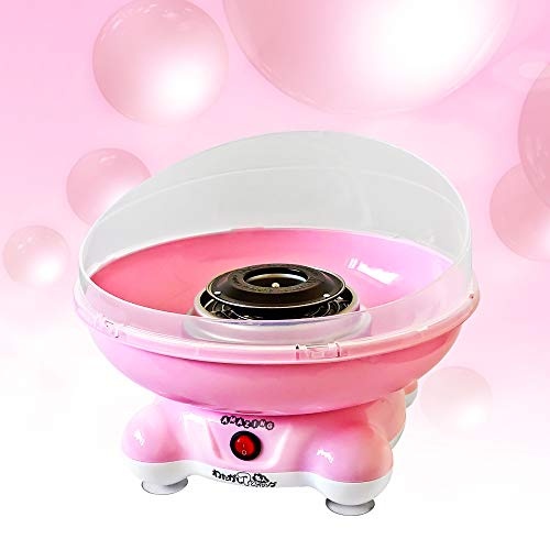 コットン キャンディ メーカー 【わたがしアメイジング:ピンク】かわいい専用キャリーバックと名人スティック付き!アメ玉 一つで大きな わたがし ができる!綿菓子 あめ玉
