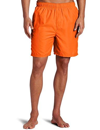 Kanu Surf Men's Standard Swim Trunks (Regular & Extended Sizes), Havana Orange, Medium