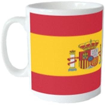 Taza de la bandera de España: Amazon.es: Hogar