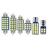 para Passat CC 2009-2014, Bombilla LED de 12 v, lámparas de Lectura Interiores para Coche, Espejo de vanidad, guantera, Accesorios para Luces de Maletero