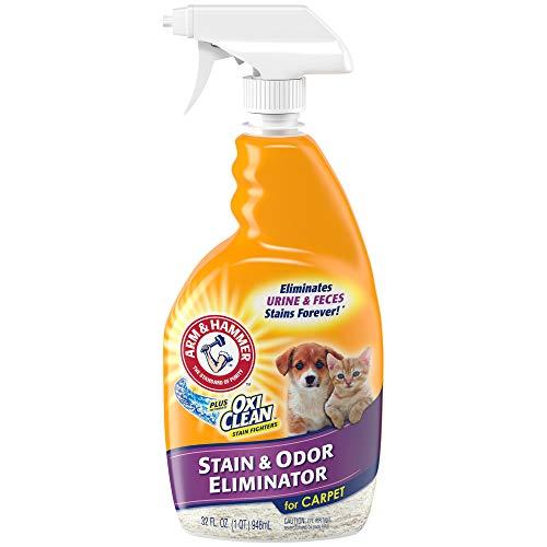 Arm & Hammer Pet Stain and Odor Eliminator, 32 Fl Oz (Pack of 2)