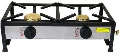 Orework Cocina Gas 2 Fuego CEE, Negro, 80 cm X 40 cm X 100 cm X ...