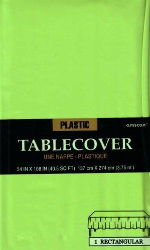 Plastiktischdecke 1,4x2,8m kiwi grün