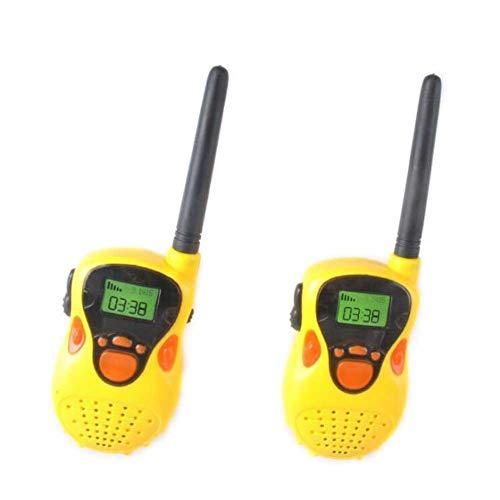 Walkie-Talkie-Spielzeug 80-100M Drahtlose Simulation in Echtzeit Walkie Talkies Set für Jungen oder Mädchen