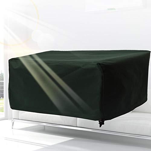 YJFENG Cubiertas para Muebles De Jardín, Cubiertas De Mesa Al Aire Libre, A Prueba De Polvo Impermeable Paño De Oxford, Lona De Cubo para Silla Sofá (Color : Green, Size : 180x140x100cm)