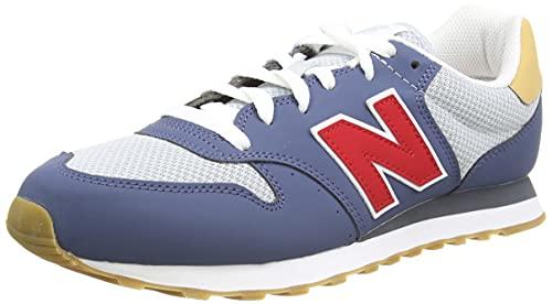 New Balance Herren 500 Beach Cruiser Pack Sneaker, Blau (Vintage Indigo), 44 EU