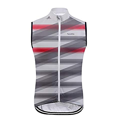 Bike Jersey Boys, Mountainbike Jersey Spezialisiertes, ärmelloses Fahrradhemd Mode Voller Reißverschluss Atmungsaktive Anti-Schweiß-Weste Fahrradbekleidung S
