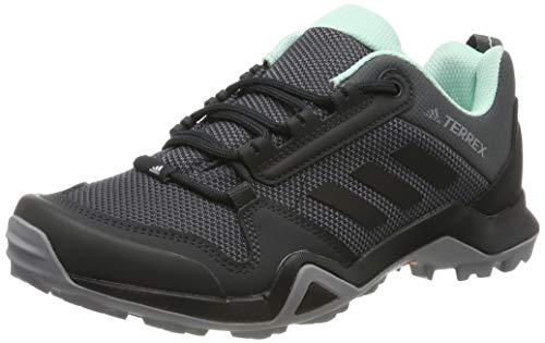 adidas Damen Terrex AX3 W Trekking- & Wanderhalbschuhe, Grau (Grey/Core Black/Clear Mint 0), 38 EU