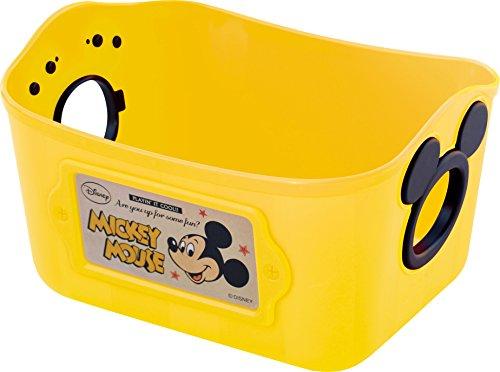 錦化成 小物 収納 ディズニー ミッキーマウス ミニやわらかバケツSQ1 イエロー