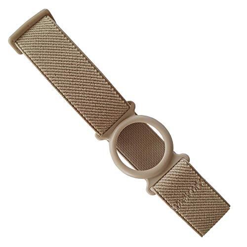 Diasticker® - Freestyle Libre Fixierband – Ring: Beige (Medium: 25-35 cm, Beige) | Flexibel - Wasserfest - Sensitiv | Sensor-Fixierung, Sensor-Schutz | Farbauswahl