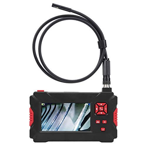 Endoscope, 4.3in LCD Screen Endoscope Camera, 1080P Inspection Device for Pipeline Detection with Adjustable Light(3M)