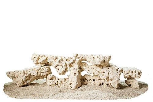 CaribSea Aquatics South Seas Base Rock Shelf, 40-Pound