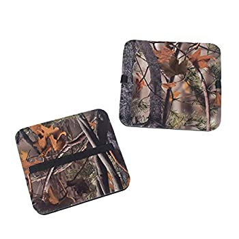 mydays Hunting Seat Cushion Camo Foam Mat Stadium Seat Pad with Adjustable Strap Moisture Proof Sitting Pad Great for Outdoor Sports Adventure Field Camping Picnic and Fishing  Camo 1 Pack