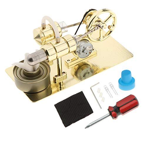 Colcolo Motor Stirling de Aire Caliente Modelo de Motor Educativo Vapor Calor Educativo