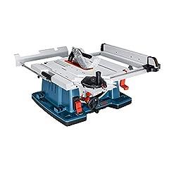 Bosch Scie de table Bosch Professional GTS 10 XC (2.100 watts, lame de scie Ø : 254 mm, Ø à la lame de scie: 30 mm, dans le carton)