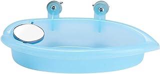 Small Bird Bath, Bird Cage Bath, Bird Accessory Bath Box, for Canary Bathing for Pet Brids Feeding