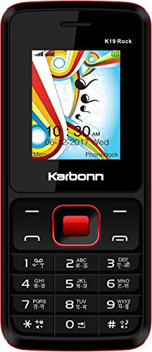 Karbonn K19 Rock (Black-Red)