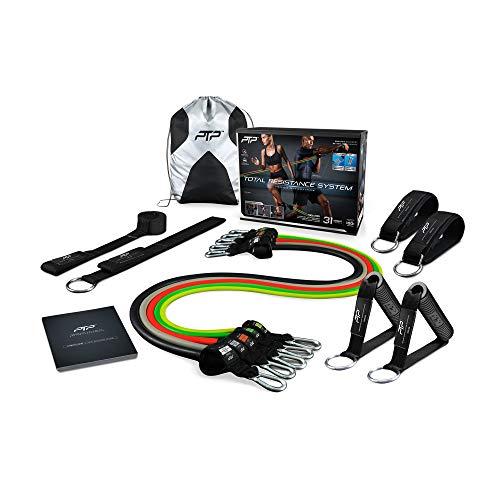 PTP Unisex– Erwachsene Power Tube Pro Fitness Set, schwarz, OS