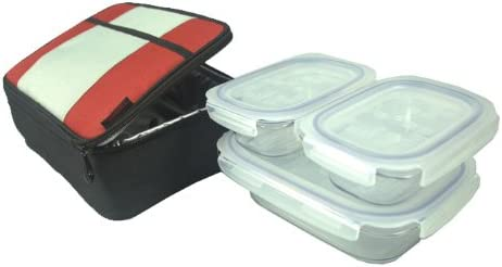 Cash special price Lunch Case KlokenTainers-red with 55% OFF