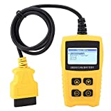 Akozon Strumento di scansione automatica, scanner diagnostico OBD Car Code Reader Battery ...