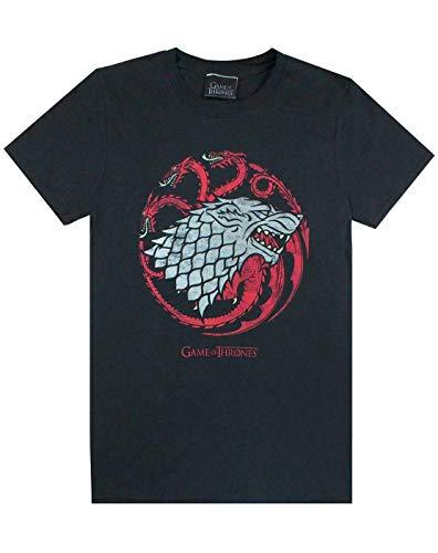 Juego De Tronos Camiseta Stark Targaryen Casa Emblema de los Hombres de