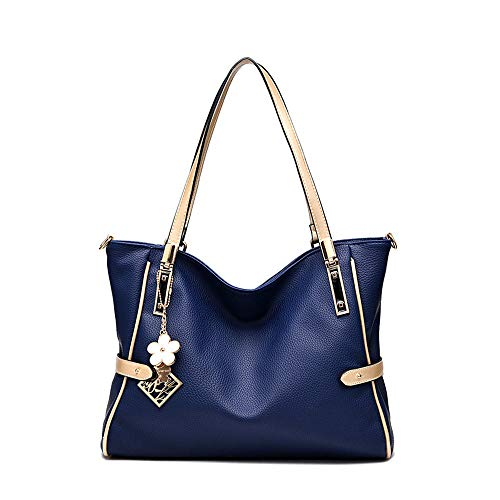 Ladies shoulder bag ladies messenger bag-Navy_blue