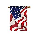 SevenX Flaggen USA Patriotic Garden Flags 12,5 X 18 Zoll Druck Beide Seiten-2-Largehouseflag-28x40inch