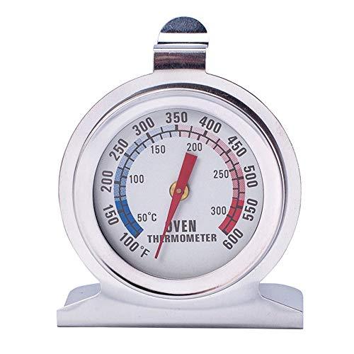 Thermomètre De Four De Cuisine En Acier Inoxydable 7 X 4,5 Cm, Thermomètre De Four Pour Cuisson Des Aliments Portatif Allant Au Four Allant De 50 à 300 Degrés Celsius Pour La Cuisine à Domicile