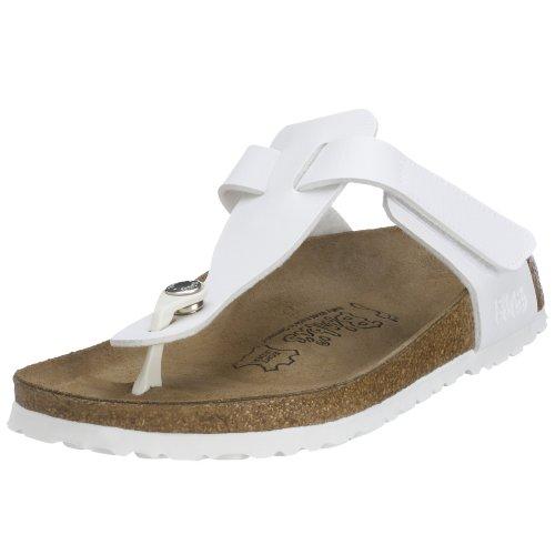 BIRKIS Tofino Sandalen BF, White, Größe 32 mit schmalem Fußbett