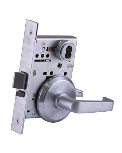 BEST Access Systems 45H7D15S626 45H Storeroom Mortise Lock, Steel